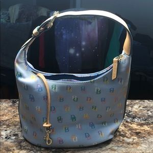 Dooney and Bourke rainbow zipper Bag